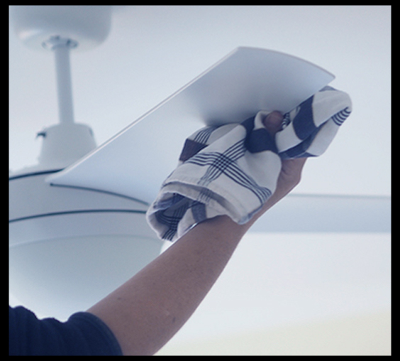 CEILING FAN CLEANING SUB